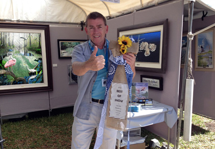 Best of Show Tampa Bay Fine Arts/Florida Blueberry Festival 2016