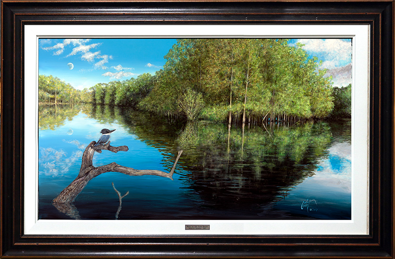 """King of the Lost River"" © Peter R. Gerbert -Framed"
