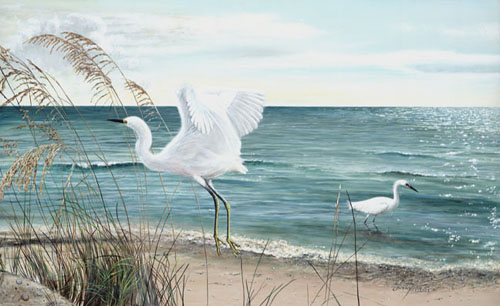 """Leaving the Beach for the Day"" Peter R. Gerbert © 2006"
